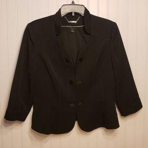White House Black Market Hook Blazer Jacket Sz 10